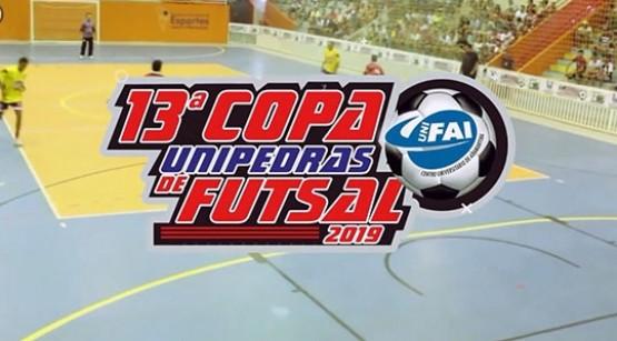 Congresso técnico da Copa Unipedras Unifai de Futsal acontece nesta terça-feira