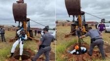 Homem é encontrado morto em poço com órgão sexual decepado e corte no pescoço