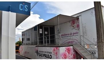 Carreta do Programa Mulheres de Peito chega à Adamantina para realização de mamografias
