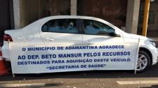 Secretaria de Saúde de Adamantina adquire mais um veículo