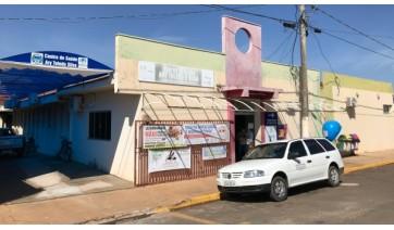 Estrutura da Secretaria Municipal de Saúde está concentrada no Centro de Saúde (foto), Centro de Reabilitação e UBS Eronis Barbosa da Silva (Imagem: Siga Mais).