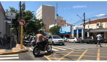 Centro de Adamantina deve ser objeto de estudos para projeto de revitalização (Foto: Siga Mais).