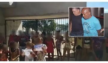 População tranca portão de cemitério e impede enterro do assassino da menina Emanuelle