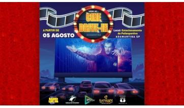 Cine Drive-In começa nesta quarta-feira e segue até domingo com programação diária