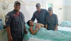 Bombeiros atendem gestante e criança nasce com auxílio da equipe de socorristas