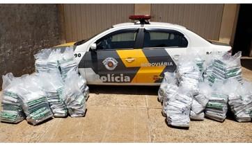 PM Rodoviária apreende carga de agrotóxico de origem chinesa avaliada em R$ 64 mil