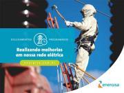 Energisa informa desligamentos programados de energia para a semana de 23 a 29 de agosto