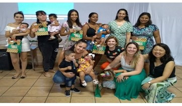 Saúde realiza encontro do grupo de gestantes Doce Espera