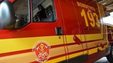 Bombeiros atendem ocorrência de afogamento de idoso no Salto Botelho
