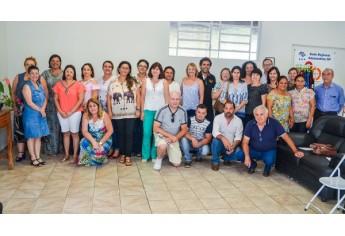 Nova reunião regional com professores representantes de escolas foi realizada n CPP em Adamantina (Foto: Maikon Moraes/Siga Mais).