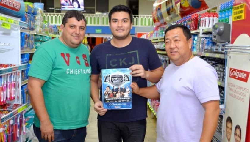 Parceria levará clientes do Supermercado Mituo à final do Rodeio e show de Guilherme e Santiago