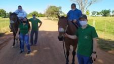 Projeto de Extensão em Equoterapia da UniFAI retoma atendimentos com respeito às normas sanitárias