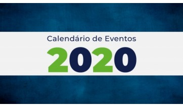 Publicado calendário oficial de eventos para 2020