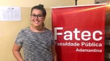Aluna da Fatec Adamantina é aprovada para intercâmbio
