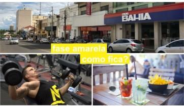 Adamantina avança na fase amarela do Plano SP: bares, restaurantes e academias também poderão abrir