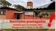 Inscrições para vestibular da Fatec Adamantina são prorrogadas até 11 de junho