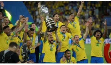 Brasil foi campeão da competição em 2019 (Fernando Frazão/Agência Brasil).