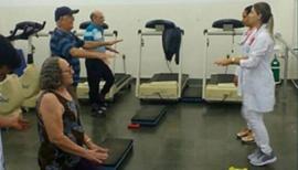 Fisioterapia prepara alunos para atendimento de pacientes cardíacos e com problemas respiratórios (Foto: Unifai).