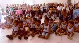 Campanha já faz parte do projeto pedagógico e esse é o terceiro ano que acontece (Foto: Da Assessoria).