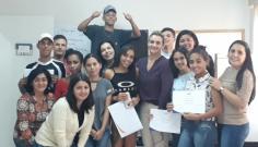 Pessoas atendidas pela Secretaria de Assistência Social participam de cursos de capacitação