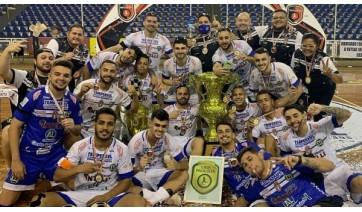 Dracena vence a Liga Paulista de Futsal