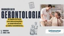 Conheça o curso de Gerontologia da Unicesumar