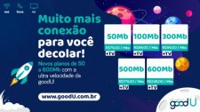 Mais internet: goodU faz upgrade de velocidade e apresenta novos planos