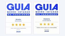 Cursos de direito e história da UniFAI recebem 4 estrelas em guia do Estadão e Quero Educação