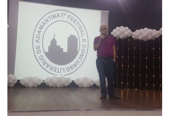 Festival e Concurso Literário teve encerramento com entrega de premiações no Anfiteatro da Biblioteca Municipal (Foto: Cedida).
