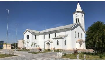 Igreja Matriz da Paróquia Imaculada Conceição de Mariápolis (Foto: Siga Mais).