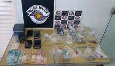 Três homens são presos em operação conjunta das Polícias Militar e Civil contra o tráfico de drogas