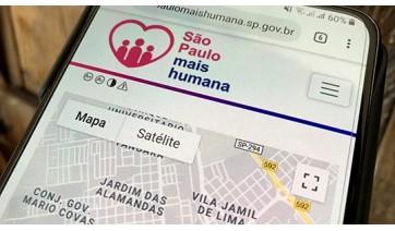Por meio do recurso de geolocalização, cidadão pode definir um raio de busca, que varia de 1 a 50 km do endereço indicado, para localizar instituições que estejam dentro da sua área de interesse (Foto: Siga Mais).