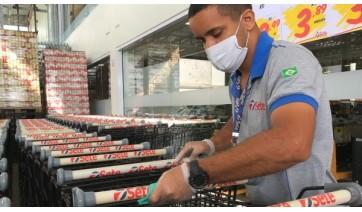 Supermercado Sete mantém ativos todos os protocolos de segurança contra Covid-19