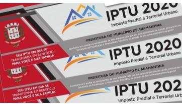 Adamantina suspende multa e juros sobre impostos municipais