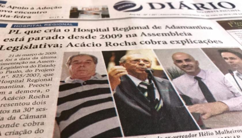 Vereador cobra informações sobre PL parado desde 2009 que cria Hospital Regional