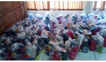CRAS e CREAS entregam kits de higiene e limpeza para seus atendidos