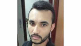 Diego Francisco da Silva, piloto da moto, morreu no local do acidente (Foto: Reprodução/Site Tupã Notícias).