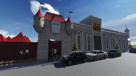 Castelo de Mareto vai se transformar no cenário perfeito para comemorações de aniversários, festas de 15 anos, casamentos, bodas, formaturas, baladas, shows e eventos (Imagem: Divulgação).