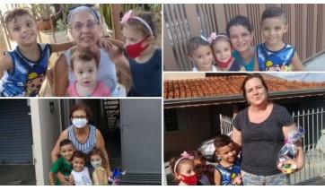 Mães de alunos homenageiam professoras das EMEIs Pequeno Príncipe e Monteiro Lobato