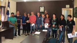 Reunião na Câmara Municipal de Mariápolis (Foto: Da Assessoria).