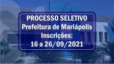 Prefeitura de Mariápolis abre processo seletivo para contratações por tempo determinado