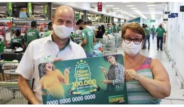 Cocipa entrega prêmios aos primeiros ganhadores da promoção Hiper Cliente Feliz