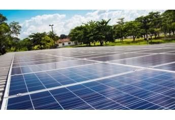 Placas fotovoltaicas foram instaladas no PAI Nosso Lar (Foto: Divulgação/Energisa).