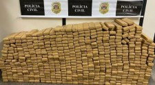 Polícia Civil prende homem com mais de 500 tabletes de maconha na SP-425 em Parapuã
