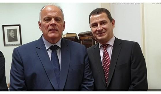 Delegado Seccional de Adamantina tem encontro com Secretário da Segurança Pública
