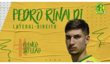 De Adamantina, Pedro Rinaldi integra elenco profissional do Mirassol