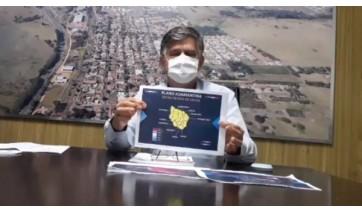 Prefeito Márcio Cardim apresenta o Plano Adamantina (Reprodução).