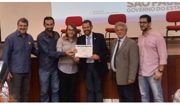 Adamantina participa de cerimônia de qualificação para certificação do Programa Município VerdeAzul