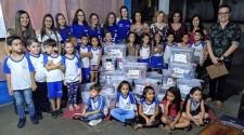 """Pibid UniFAI lança projeto """"Caixa de Matemática"""" em escola de Osvaldo Cruz"""