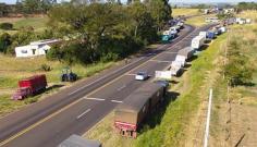 Comércio de Adamantina fecha as postas às 17h em apoio à greve dos caminhoneiros